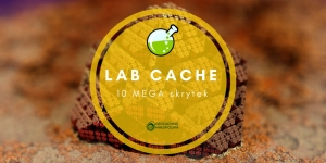10 razy Lab Cache na Geocaching Party!